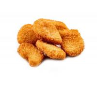 Наггетсы из мяса цыпленка.